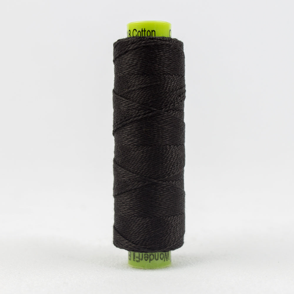 Sue Spargo's Eleganza 8 Weight Solids - Black Tie