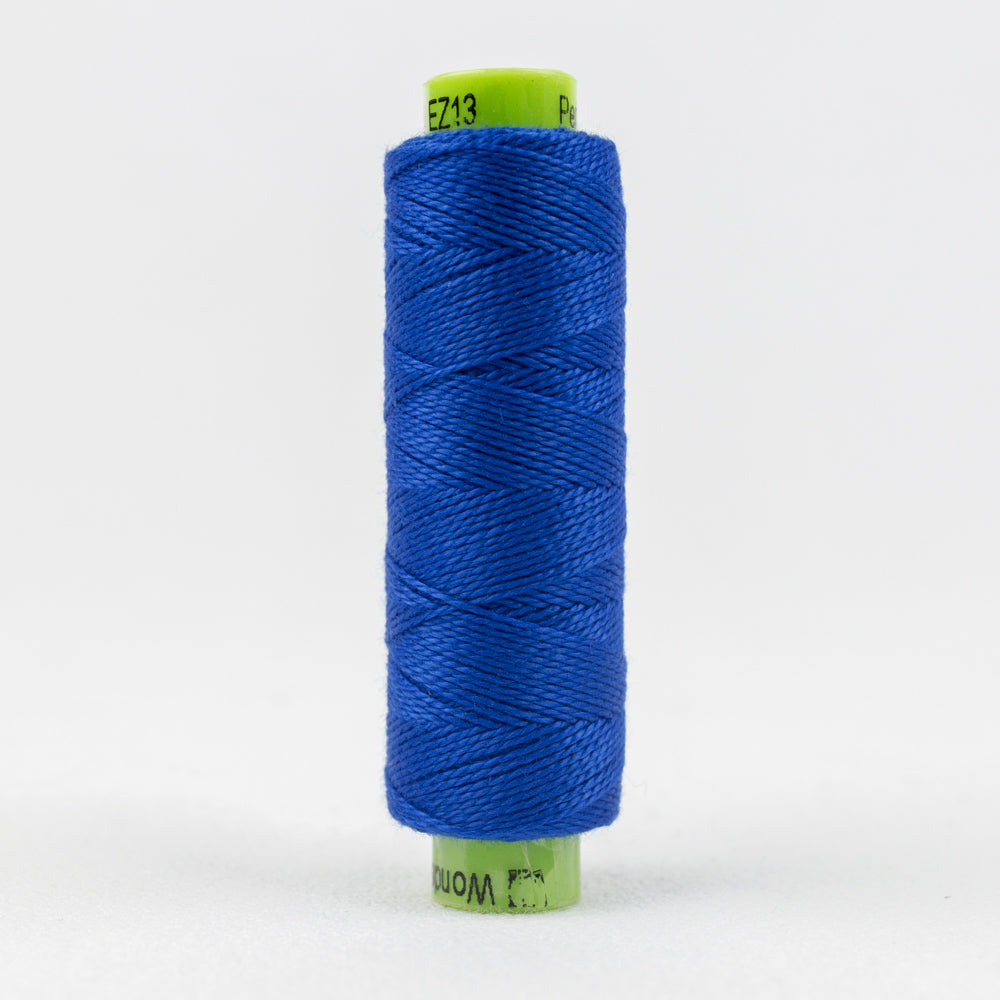 Sue Spargo's Eleganza 8 Weight Solids - Hyper Blue