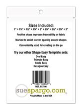 Sue Spargo's Square Easy + Creative Stitching Templates