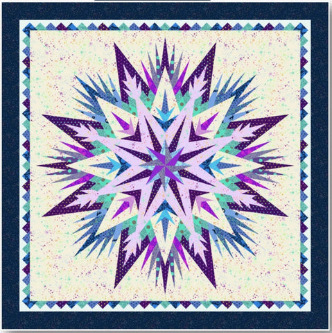 Tula Pink's True Colors Cosmic Shimmer Quilt - PREORDER, Ships October 2020