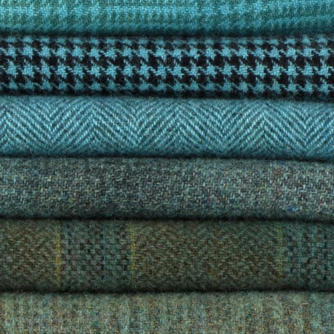 Sue Spargo Textural Wool Bundle -- Turquoise -- PreOrder, Arrives July 2020