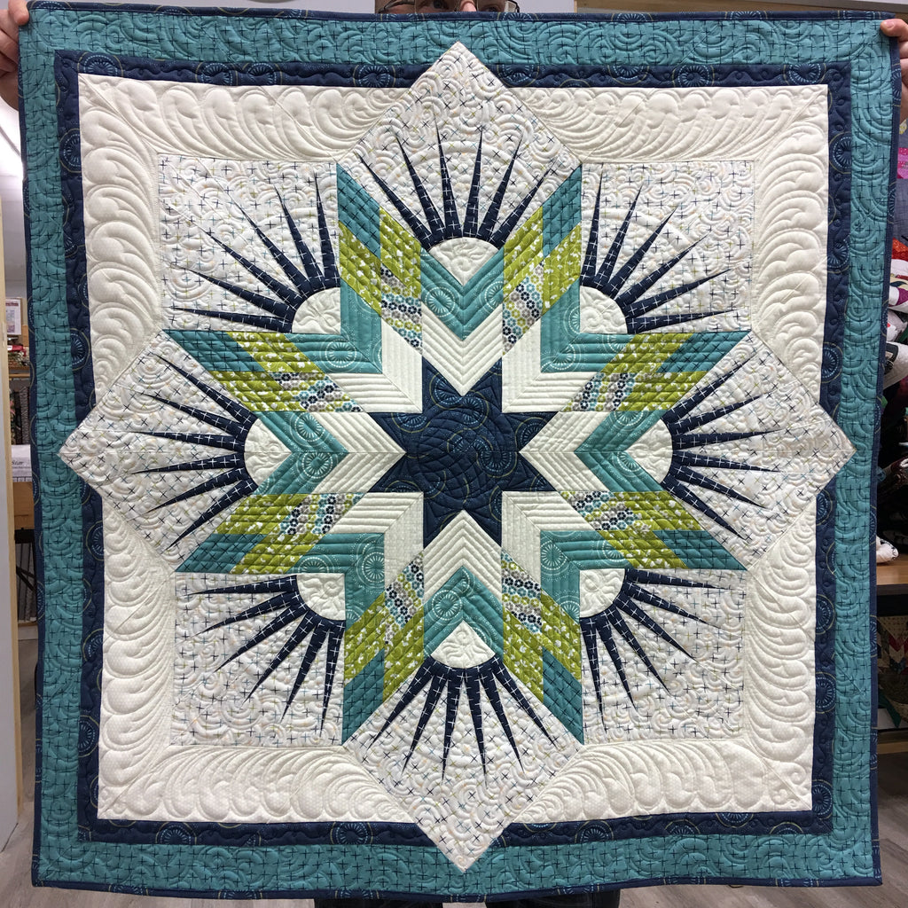 Twinkle Star Quilt Kit - Sunday Supper