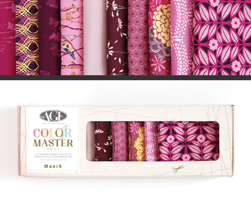 AGF Colour Masters - Vibrant Violet Fat Quarters