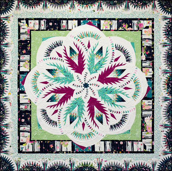 Vintage Rose Quilt Kit - Lavish Version