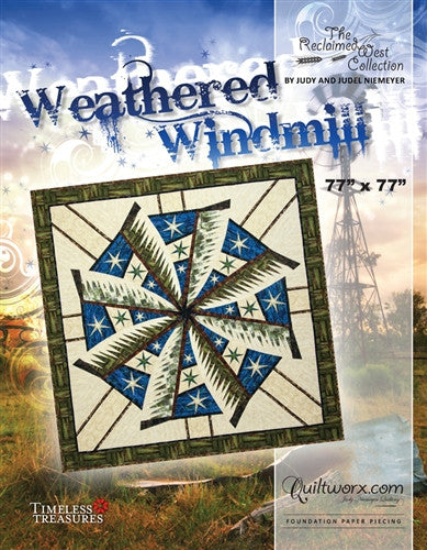 Weathered Windmill Quilt Pattern