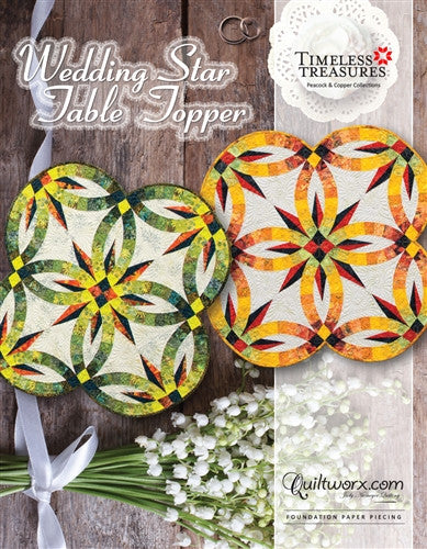 Wedding Star Table Topper Pattern