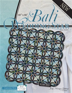 Bali Wedding Star Quilt Kit - Blue