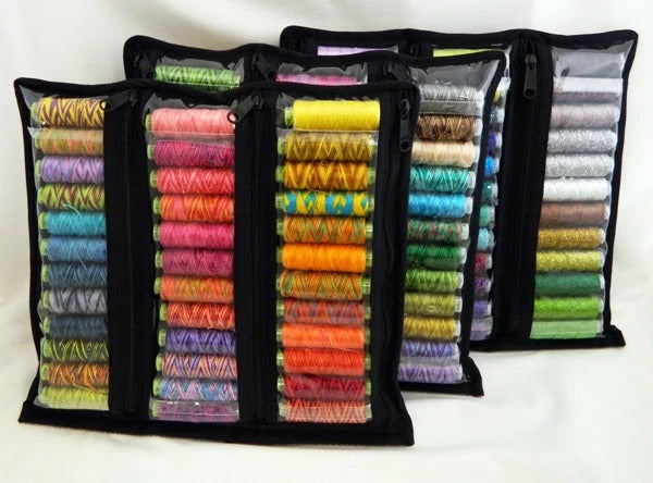 Thread Storage - Clear Six Pocket Thread Storage