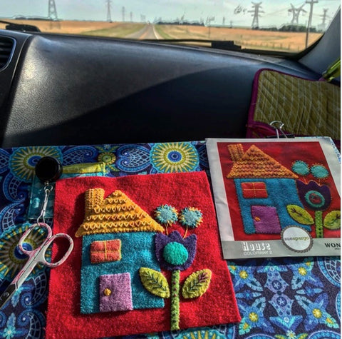 Sue Spargo Wool Felt Embroidery Club - Thursdays
