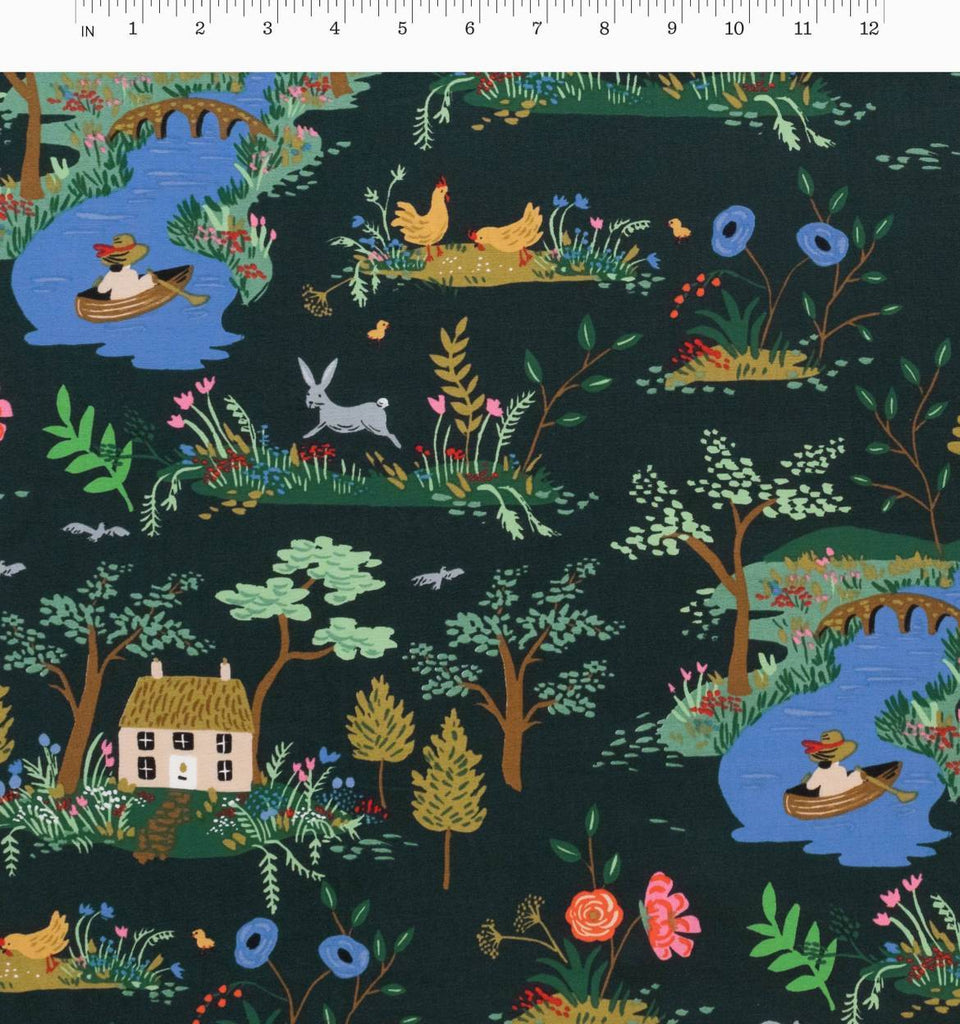 Rifle Paper Co.'s English Garden - Garden Toile Dark