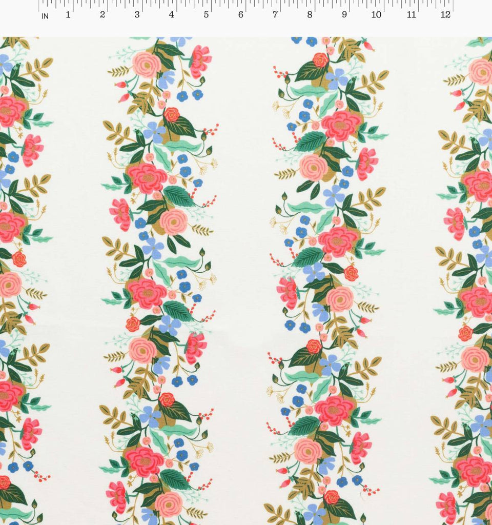Rifle Paper Co.'s English Garden - Floral Vines Cream - Pre-Order, Arrives August 2018