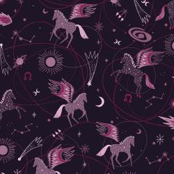 Cotton and Steel's Mystical - Elena Essex - Astro Pegasus Plum