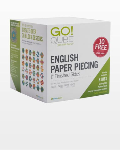 Go! Qube - English Paper Piecing