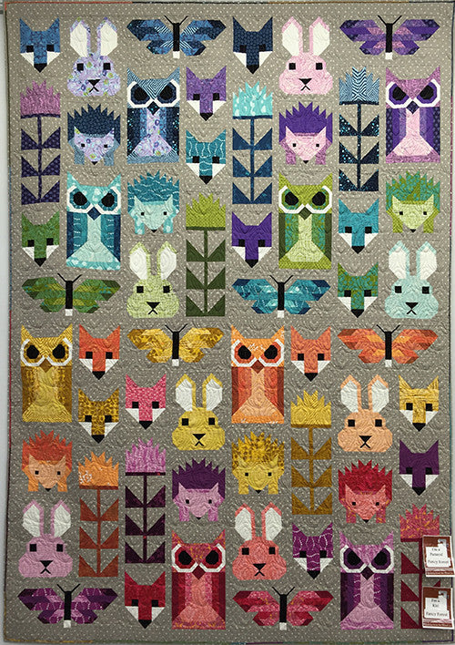 Fancy Forest Quilt Kit