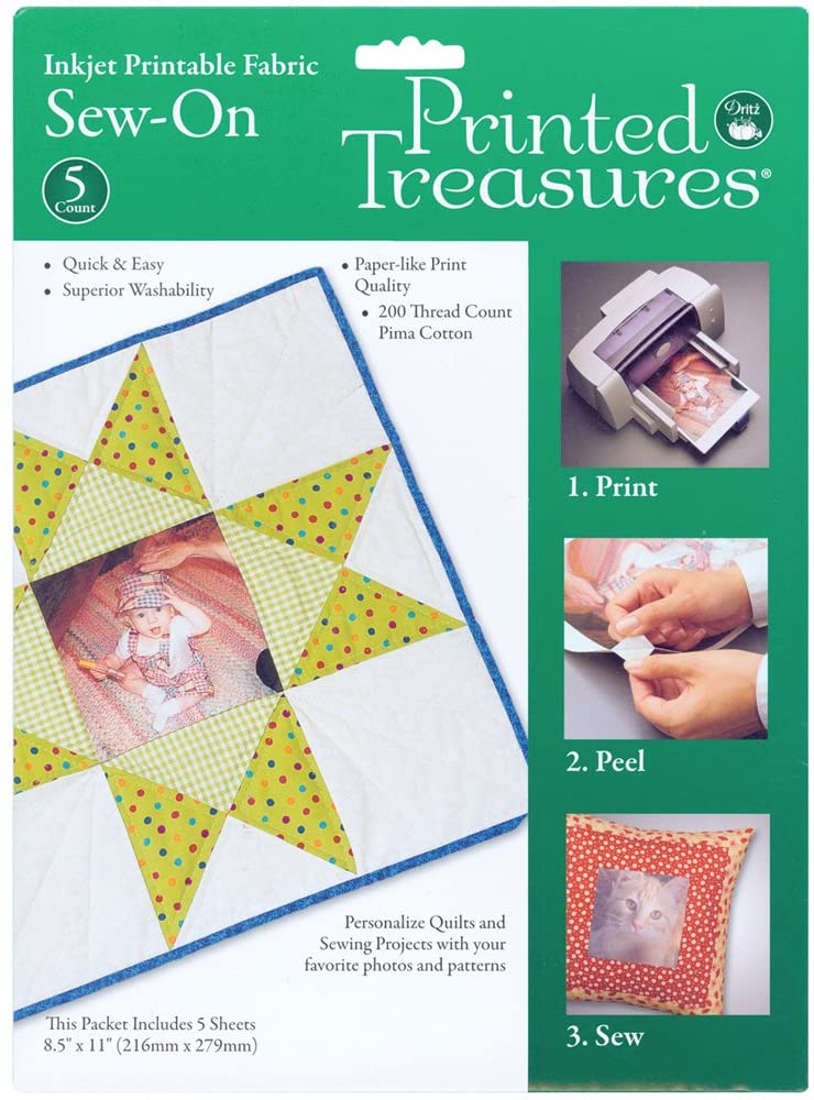 Printed Treasures - Inkjet Printable Fabric