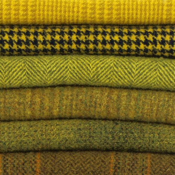 Sue Spargo Textural Wool Bundle -- Sun Yellow