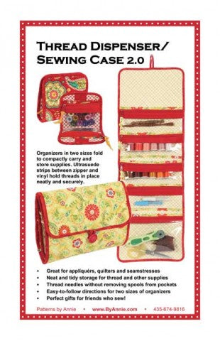 Thread Dispenser / Sewing Case 2.0 - Bag Pattern - By Annie