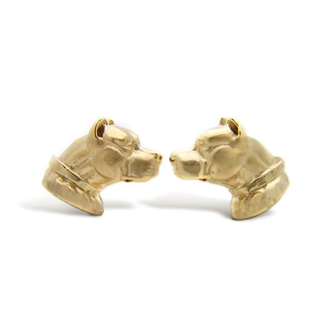 The Golden Pitbull Cufflinks