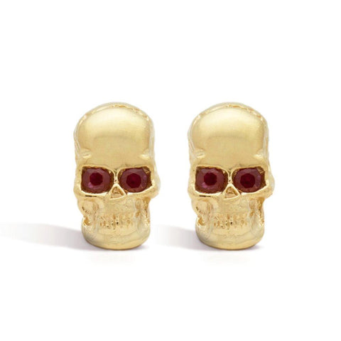 The Red-Eyed Skull Cufflinks