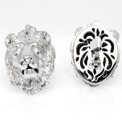 The Snow Lion Cufflinks