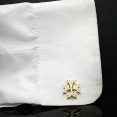 The Khatchkar Cross Cufflinks
