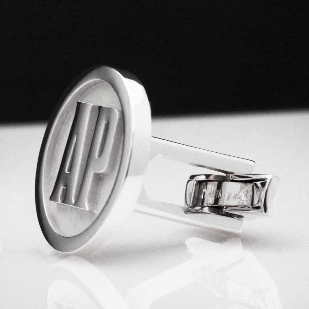 The White Gold Godfather Cufflinks