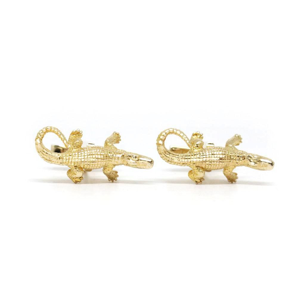 The Great Crocodilian Cufflinks
