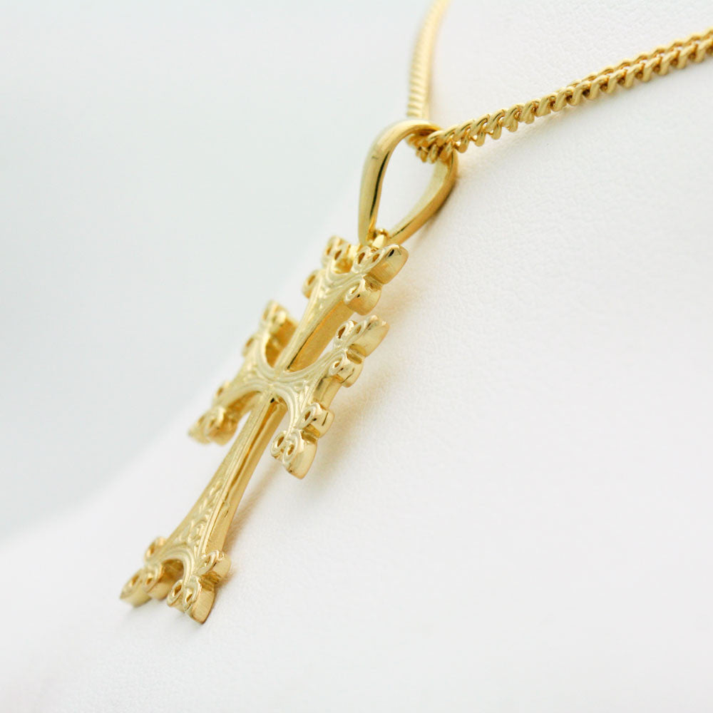 The Armenian Gold Cross Pendant