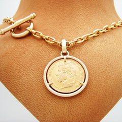 The King Louis Coin Pendant