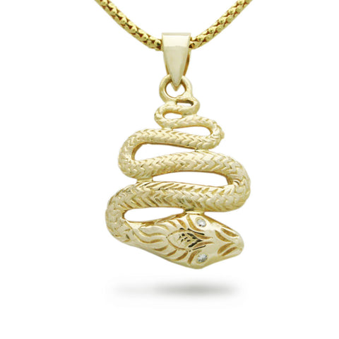 The Slithering Snake Pendant