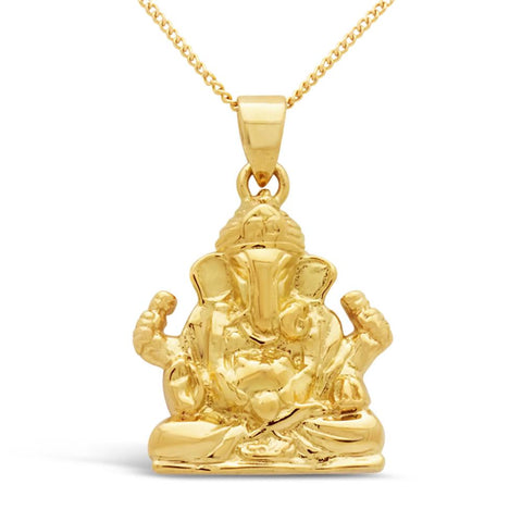 The Golden Ganesha Pendant
