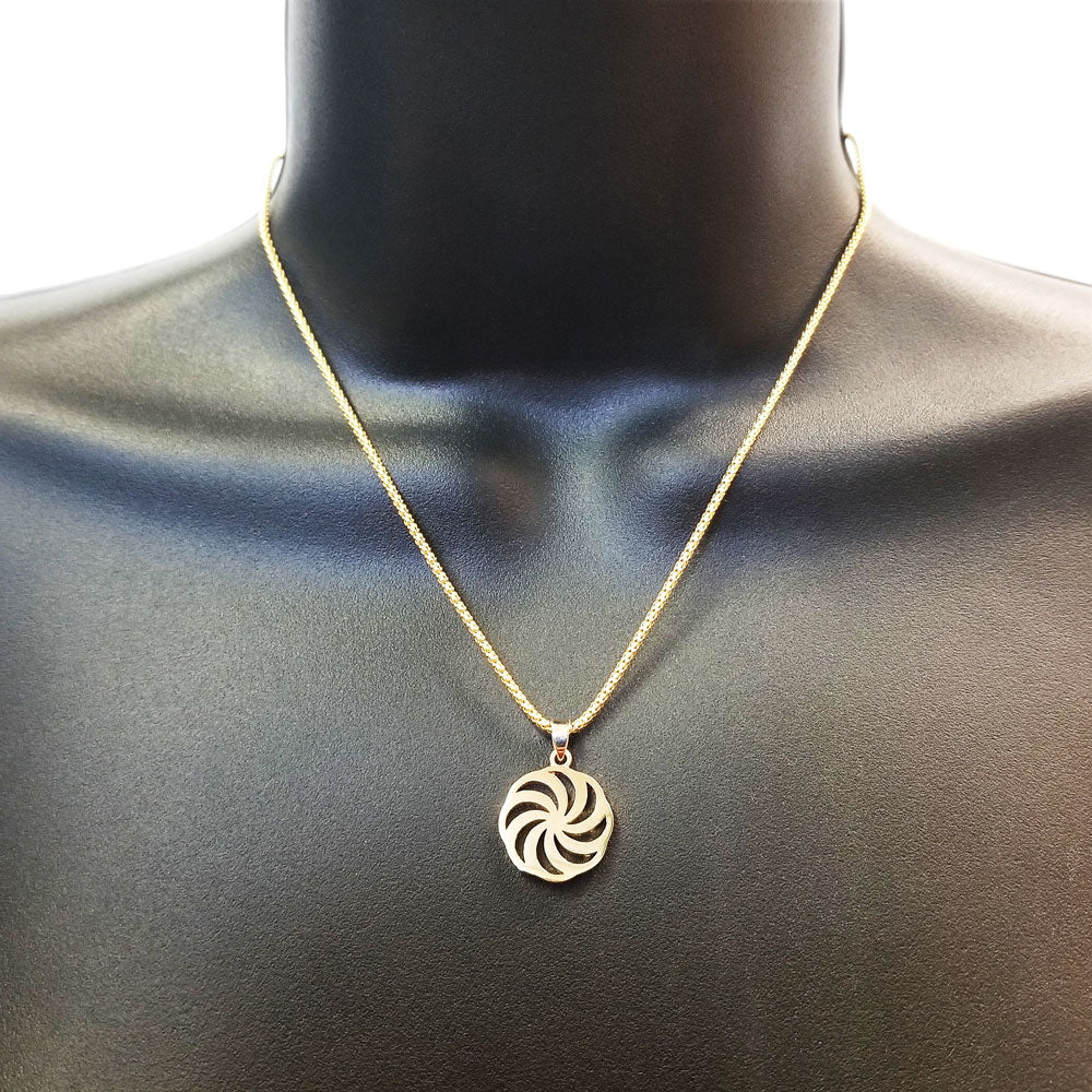 The Golden Eternity Pendant