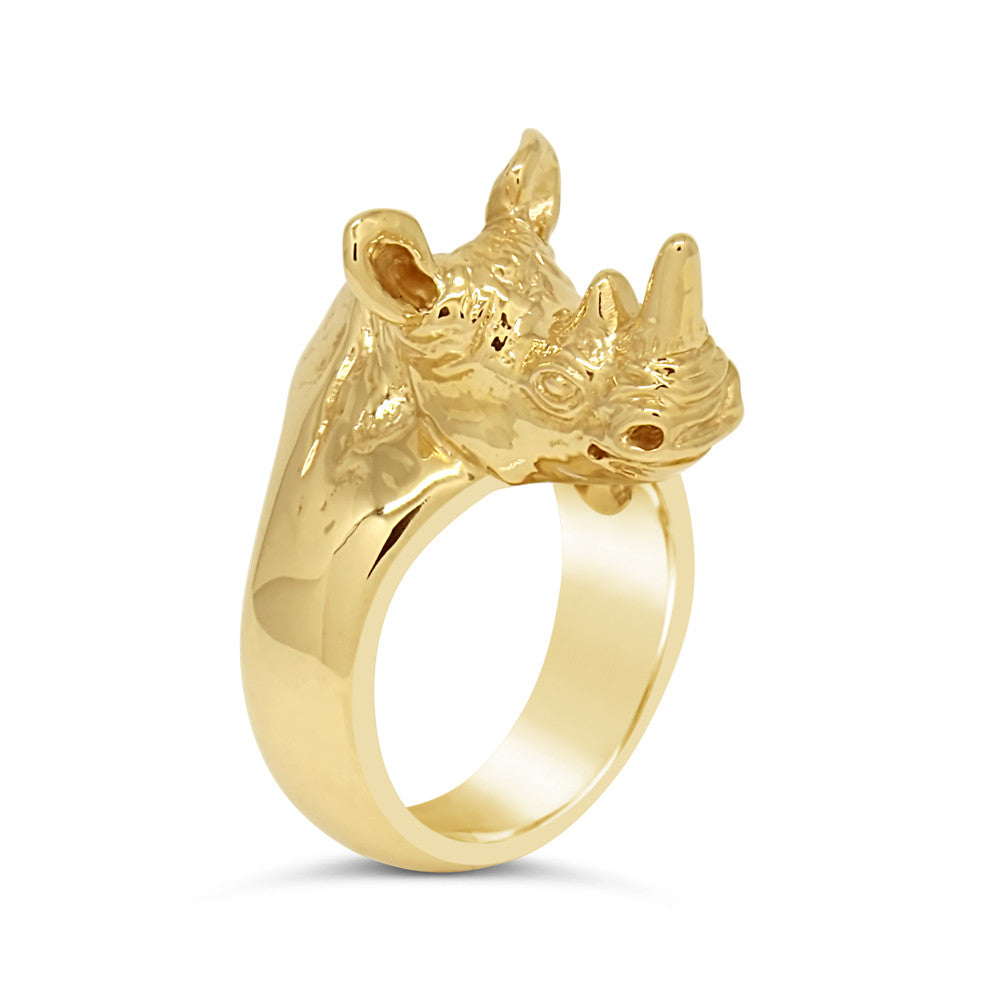 The Golden Rhino Ring