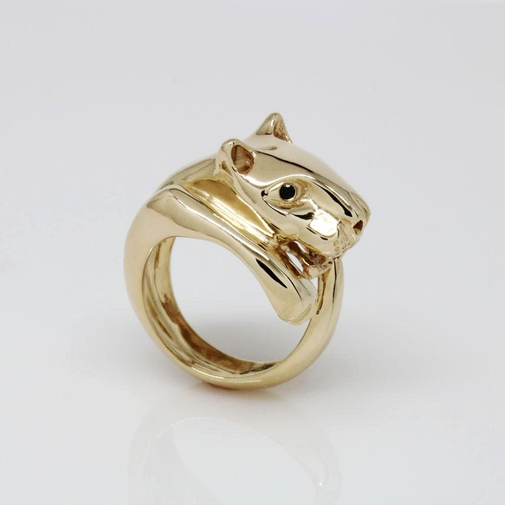 The Shy Jaguar Ring