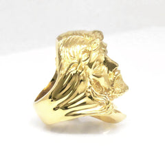 The Gilded Jesus Ring