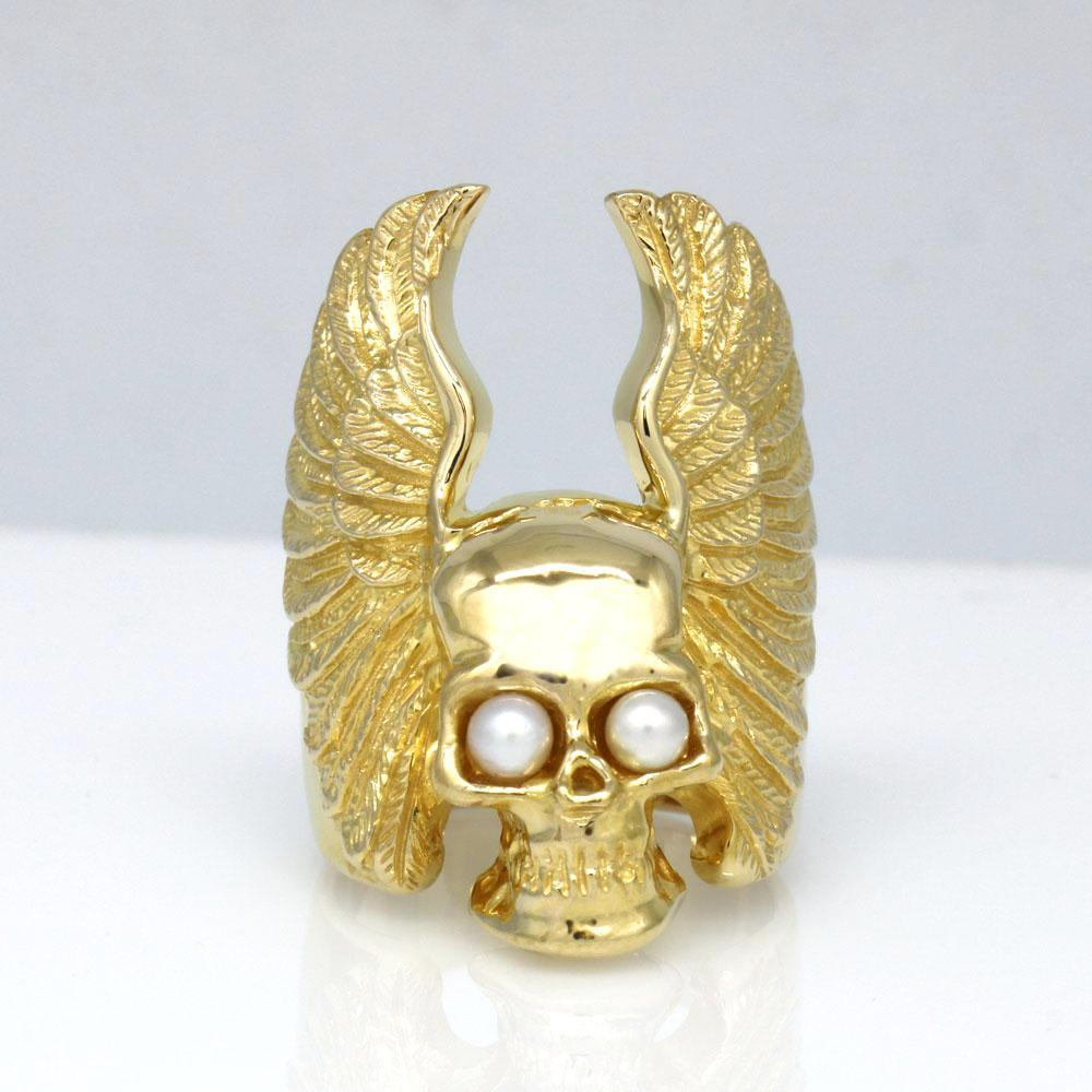 The Winged Skull Ring