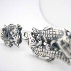 The Crocodile Duo Cufflinks