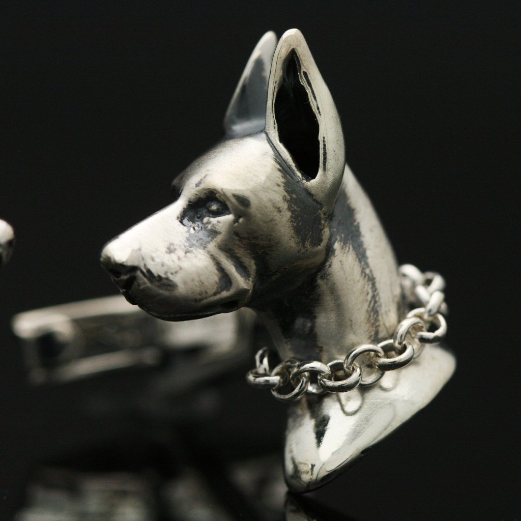 The Doberman Pinscher Cufflinks