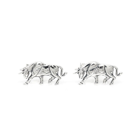 The Pawing Bull Cufflinks