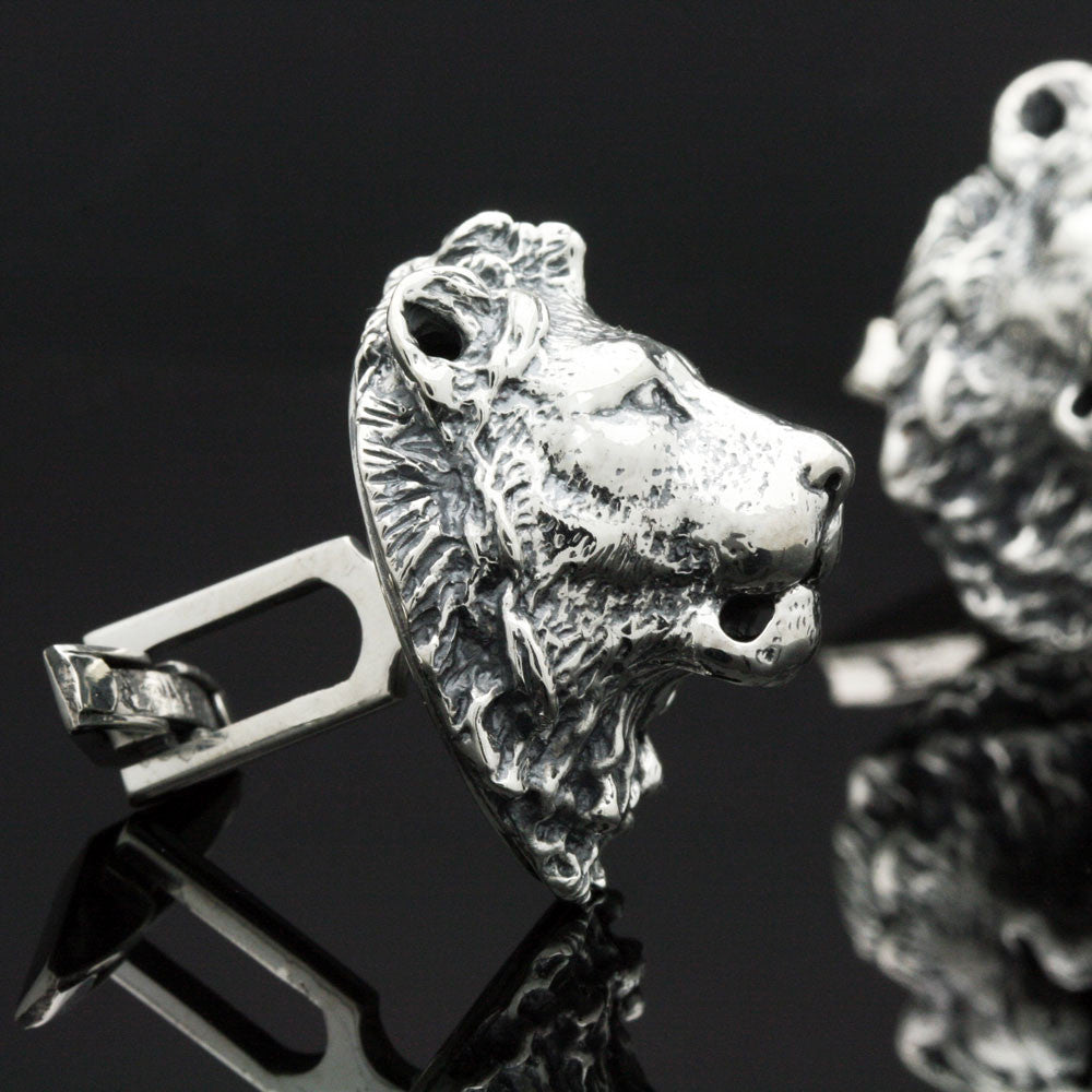 The Bold Lion Cufflinks