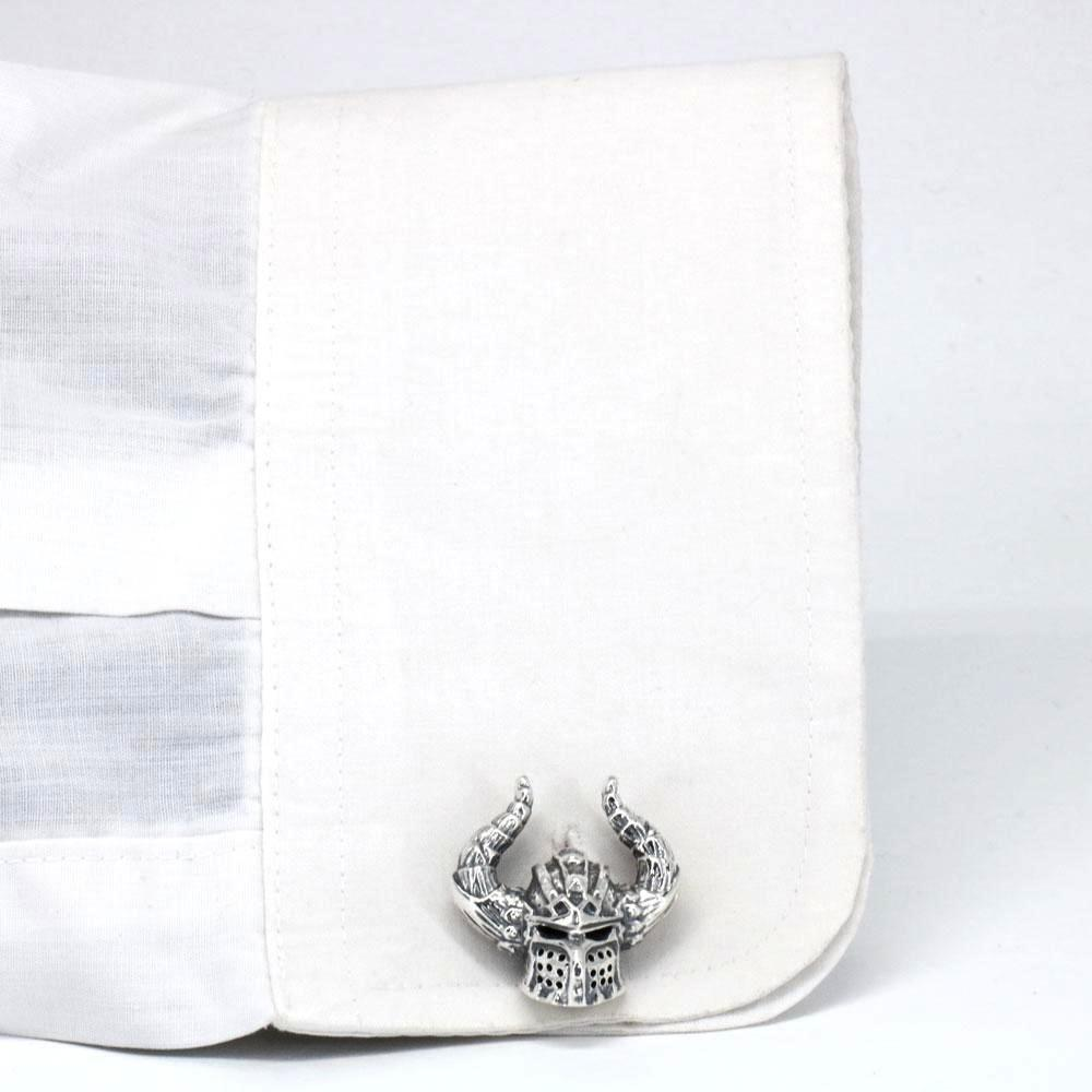 The Viking Helmet Cufflinks