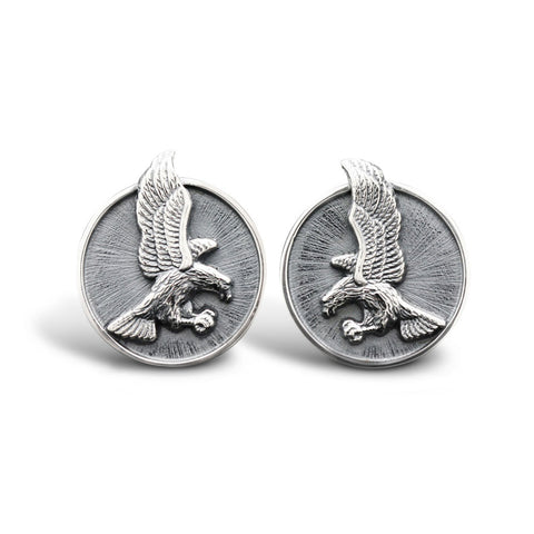 The Preying Eagle Cufflinks