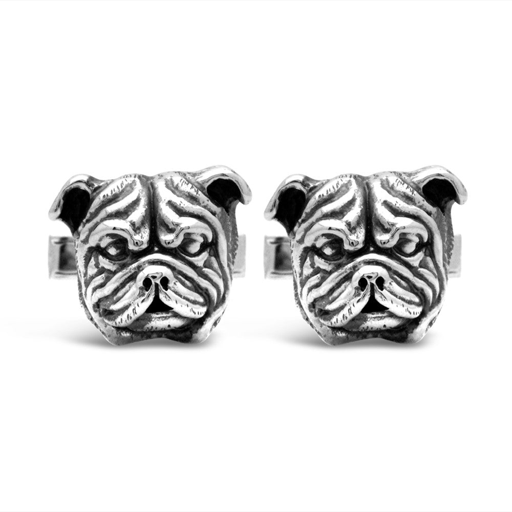 The Bulldog Cufflinks