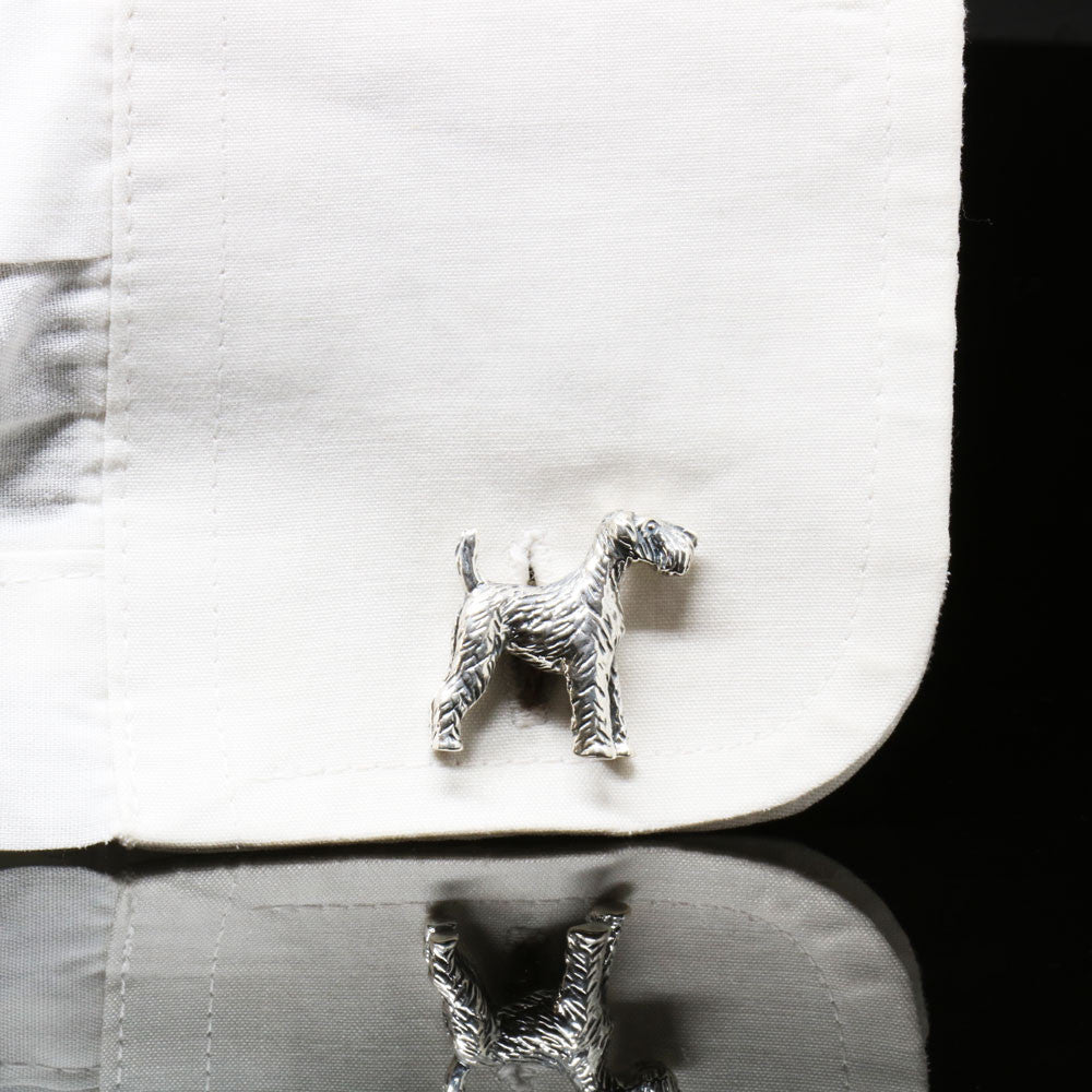 The Airedale Terrier Cufflinks