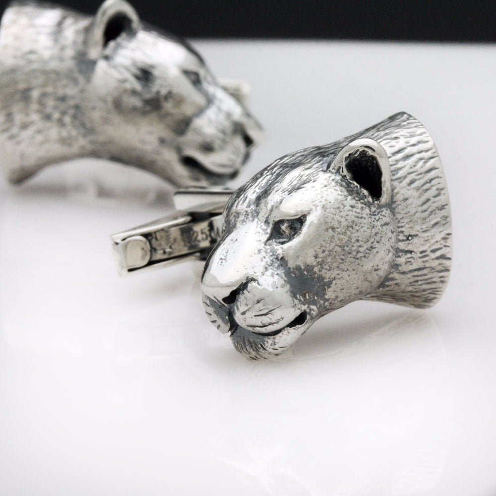 The Alluring Leopard Cufflinks