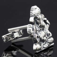 The Ganesha Deity Cufflinks