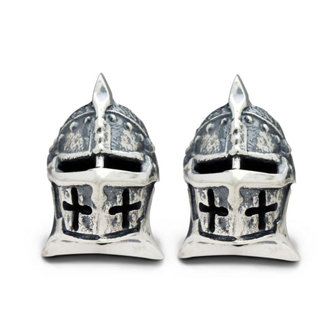 The Jousting Helmet Cufflinks