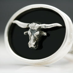 The Texas Longhorn Cufflinks