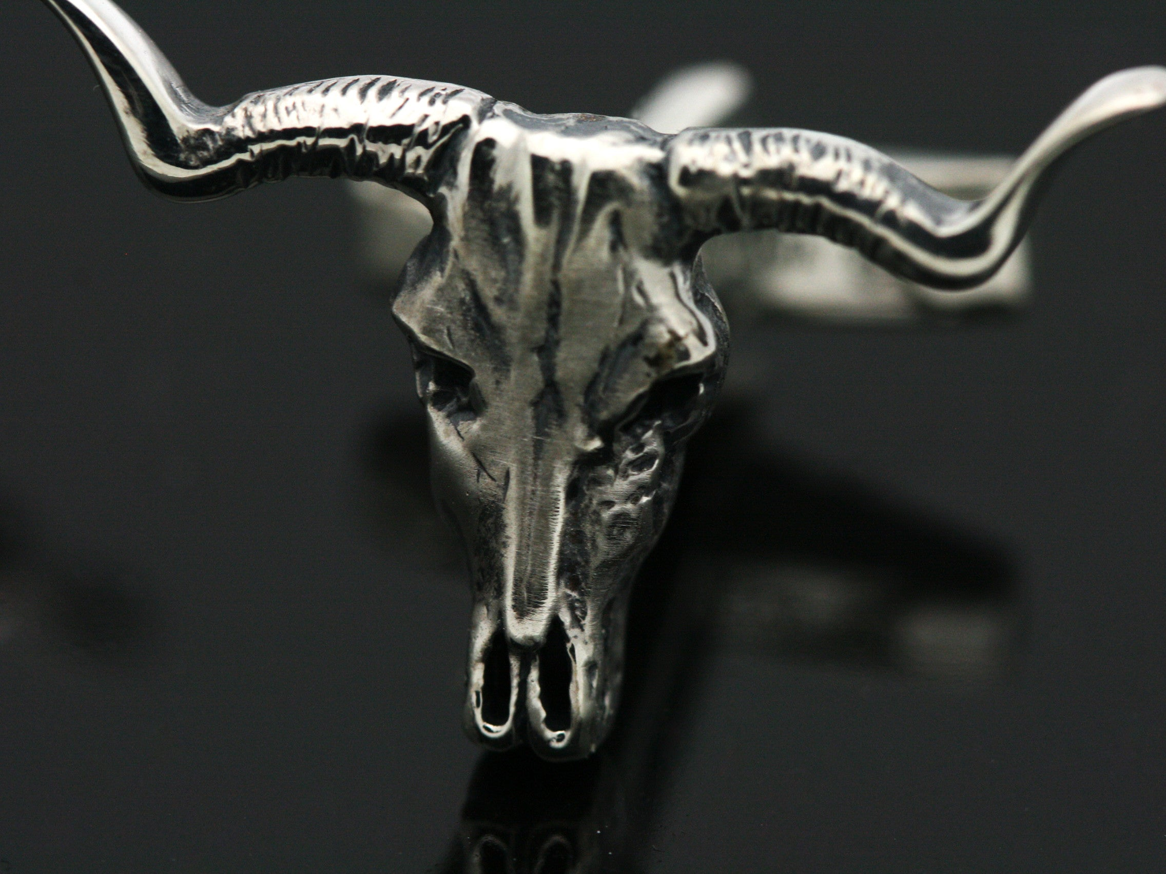 The Longhorn Skull Cufflinks