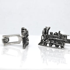 Steam Train Cufflinks